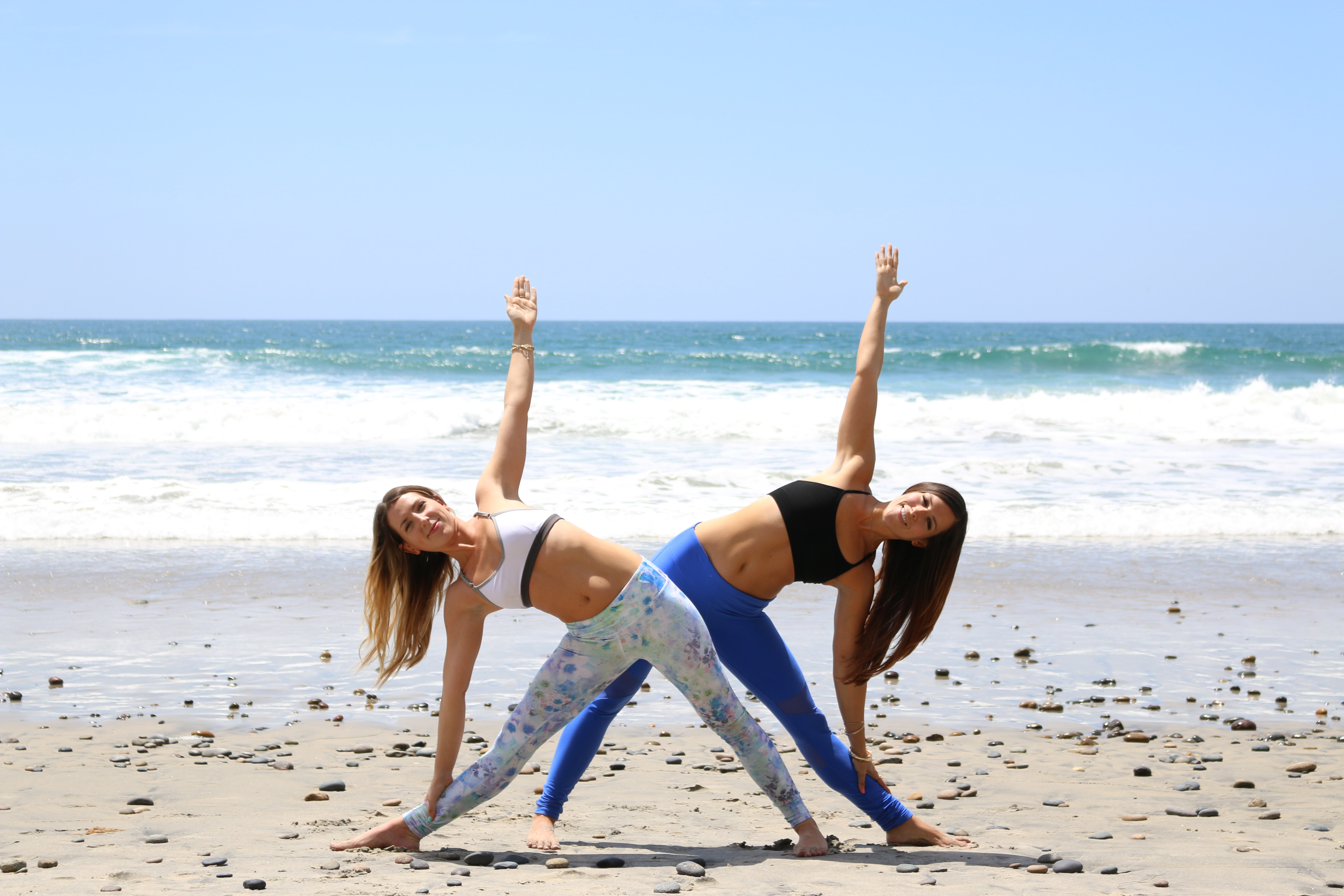 Free 43 Day Yoga Challenge Poses - Super Sisters Yoga
