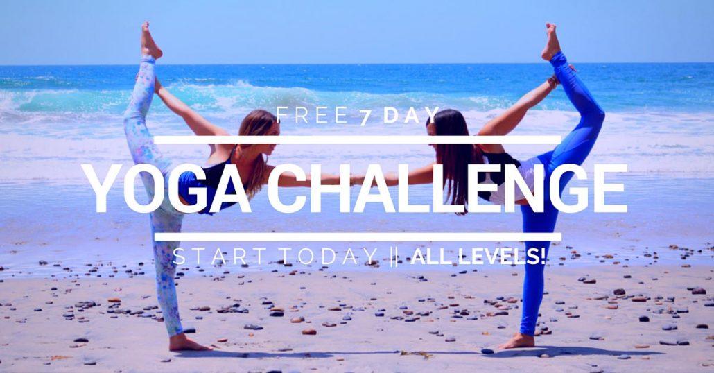free yoga challenge